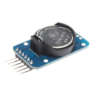 DS3231 High Precision Real-Time Clock Module - Blau (3.3 ~ 5.5V)