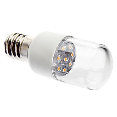 0.5W 50-150lm E14 LED Kerzen-Glühbirnen 7 LED-Perlen Dip - Leuchtdiode Dekorativ Warmes Weiß 220-240V