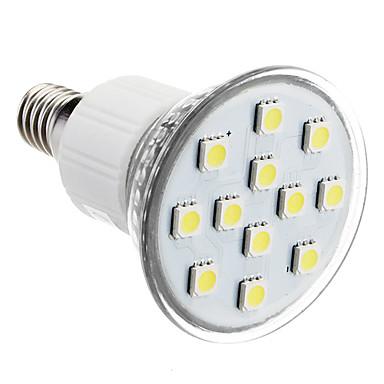 E14 2W 12x5050SMD 90-100LM 6000-7000K Natural White LED Bulb Pontual (230V)