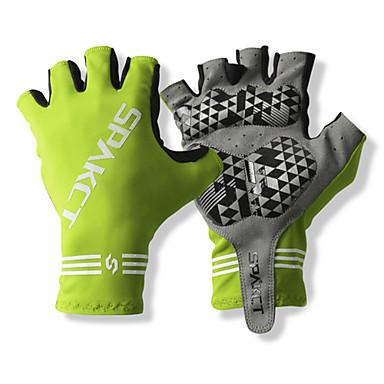 billige Sykkelhansker-SPAKCT Sykkelhansker Pustende Anti-Skli Svettereduserende Beskyttende Halv Finger Aktivitets- / Sportshansker Fjellsykling til Voksne Utendørs