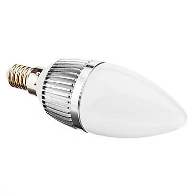 e14 svítící svíčky c35 6 smd 2835 280lm teplá bílá 2700k ac 220-240v