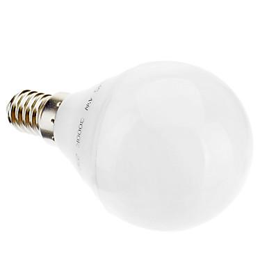 3W 2700 lm E14 Bulb LED Glob G45 28 led-uri Alb Cald AC 220-240V