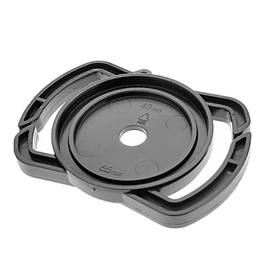 Universal 43mm / 52mm / 55mm Capac Suport catarama pentru SLR - Negru