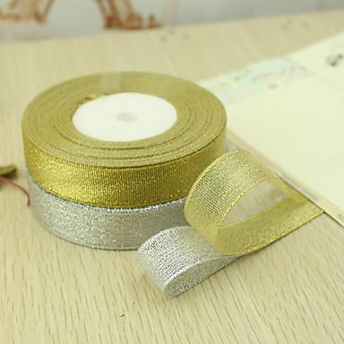 Solid Color Organza Wedding Ribbons Piece/Set Organza Ribbon Decorate gift box Decorate wedding scene