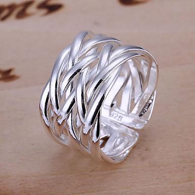 Pentru femei Verighete Design Unic Ajustabile Deschis plaited Argilă Aliaj Bijuterii Bijuterii Nuntă Petrecere Cadou Zilnic