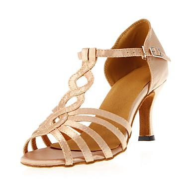 Satin Pantofi de dans superior femei frumoase personalizate lui