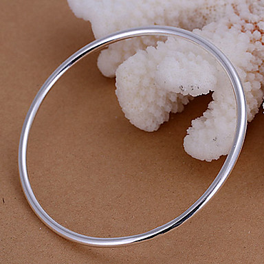 Women's Bangles - Silver Bracelet For Party