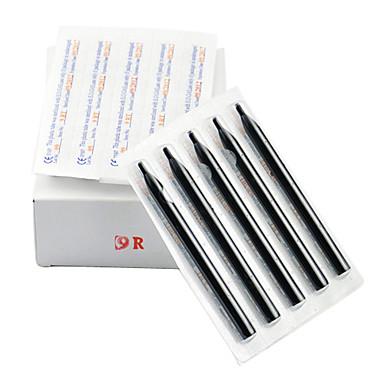 30buc plastic de unică folosință Tattoo Tube Sfaturi 9RT Negru