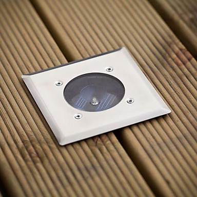 hvid ledet rustfrit stål solterrasse lys (cis-57103) høj kvalitet