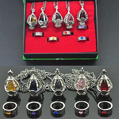 Jewelry Inspired by Puella Magi Madoka Magica Kyoko Sakura Anime Cosplay Accessories Necklaces Artificial Gemstones Alloy Women's