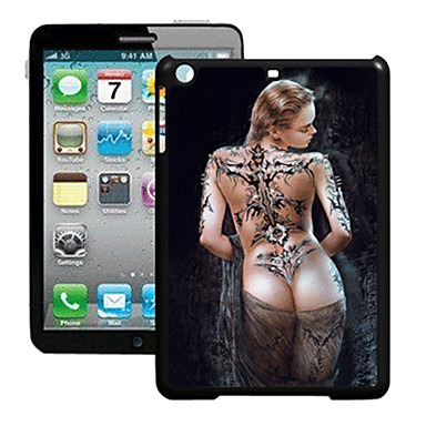 model de femeie 3d efect pentru iphone 5 ipad cazuri / acoperă