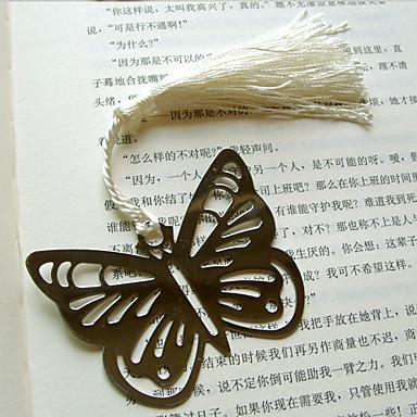 hohlen-out Schmetterling Metall Lesezeichen