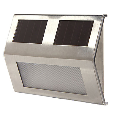 3-LED bijelo svjetlo žarulja solarni pogon vrtna okućnica put šetnica stepenice auto rasvjete