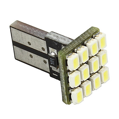 Merdia White 12 SMD 1210 912 921 Canbus Error Free LED Backup Lights Bulbs Pair-LEDD004JMA12