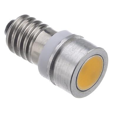 E10 0.5W 28-30LM 2800K Warm White Light LED pære til bil (DC12V)