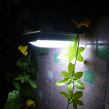 Solární lampy Venkovní 16-LED světla Nástěnné svítidlo Ray Light Sensor