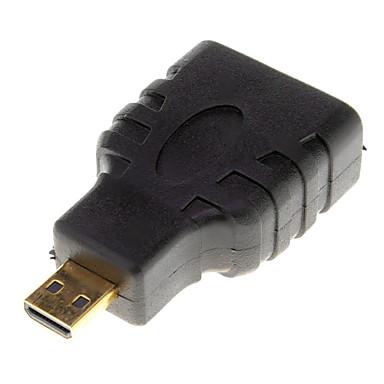 Micro HDMI v1.3 Erkek Adaptör HDMI v1.3 Kadın