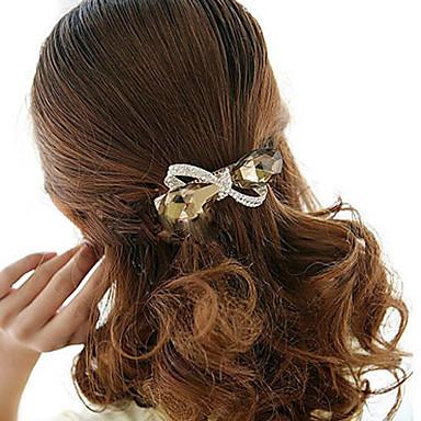 Pentru femei Flori Elegant, Ștras Aliaj Agrafe Păr