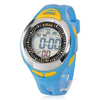 Copii Ceas Sport Ceas digital Quartz Piloane de Menținut Carnea LCD Bandă Negru Albastru Negru Albastru