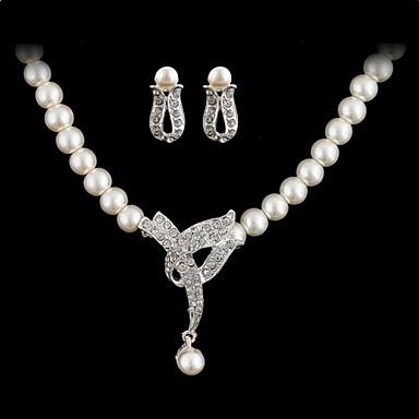 Set bijuterii Pentru femei Aniversare / Nuntă / Logodnă / Zi de Naștere / Cadou / Petrecere / Zilnic / Ocazie specială Set Bijuterii Aliaj