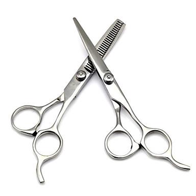 povoljno Perike i ekstenzije-Stručni nehrđajućeg frizerske škare Postavi Kit Barber stanjivanje kose