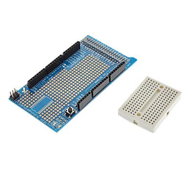 Prototyp-Schild Proto v3-Erweiterungskarte mit Minibrotbrett für (für die Arduino) Mega