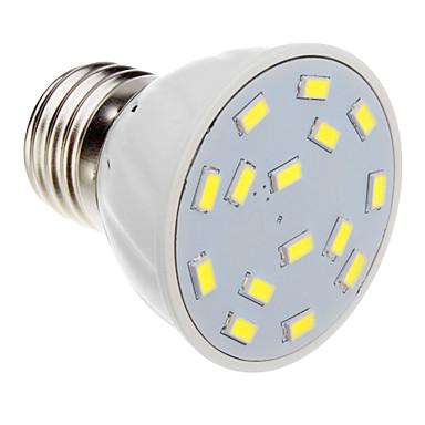 5W E26/E27 Spot LED 15 SMD 5730 420-450 lm Blanc Chaud / Blanc Froid AC 100-240 V