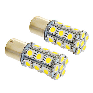 SO.K BA15S(1156) Car Light Bulbs W SMD 5050 490lm lm Tail Light Foruniversal