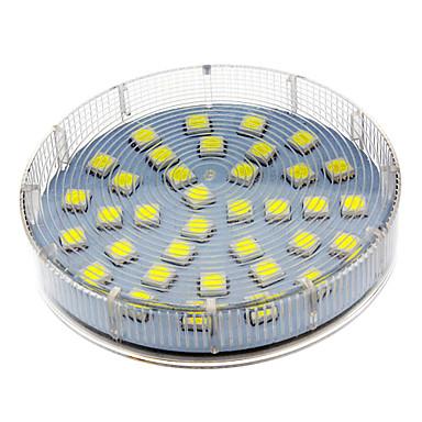 1 adet gx53 5 w 280-350 lm led spot 36 led boncuk smd 5050 sıcak beyaz / soğuk beyaz / doğal beyaz 220-240 v