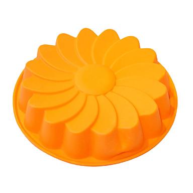 Mare Daisy Forma tort de coacere Pan, silicon (randoms de culoare)