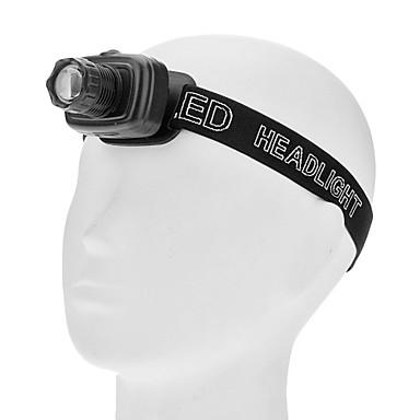 Osvětlení Čelovky LED 180lm Lumenů 3 Režim AAA Nastavitelné zaostřování / Voděodolný / Ultra lehké / Kompaktní velikost / MaléKaždodenní
