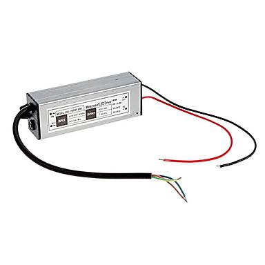 50 Watt 1500ma wasserdichte led-treiber stromversorgung (ac 176-265 v / dc 27-37 v)