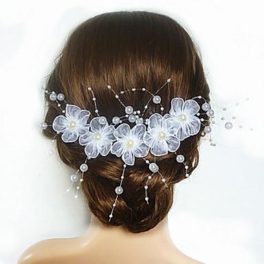 Imitacija bisera / Opeka / Saten Cvijeće s 1 Vjenčanje / Special Occasion Glava