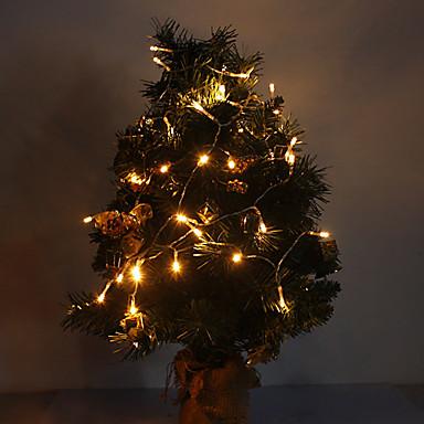 4m 3w 40-led 210lm luminii calde de lumină albă a condus lumina benzi pentru decoratiuni