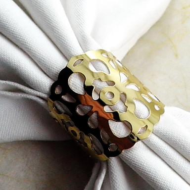 Gold Metal Napkin Ring