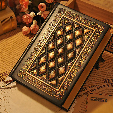 Handmade embossed evanghelie notebook b6 stil de relief pu piele de epocă retro carte de note kraft