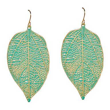 Náušnice Leaf Shape Visací náušnice Šperky Denní Slitina Dámské Zlatá