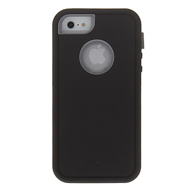 Pouzdro Uyumluluk Apple iPhone X iPhone 8 iPhone 8 Plus iPhone 5 Kılıf Şoka Dayanıklı Tam Kaplama Kılıf Zırh Sert PC için iPhone X iPhone