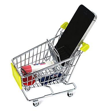 Creative Culori Ramdom Mini Storage Rack Cosul de cumparaturi