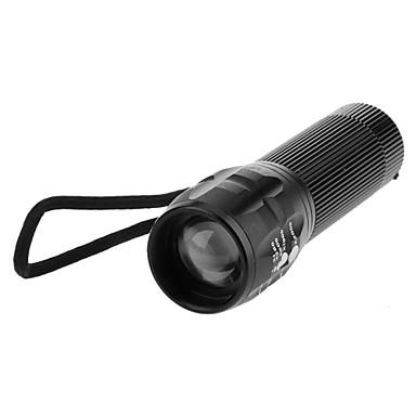 LED Taschenlampen LED 200lm 3 Beleuchtungsmodus Zoomable- / einstellbarer Fokus Camping / Wandern / Erkundungen / Für den täglichen