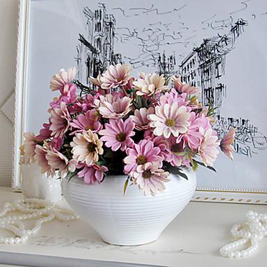 ramură Mătase Margarete Față de masă flori Flori artificiale