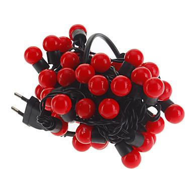 5m Leuchtgirlanden 50 LEDs Rot 220 V