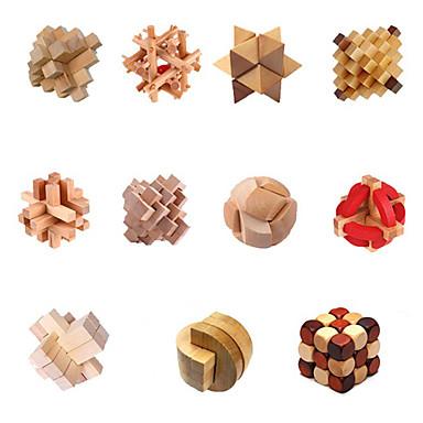 Holzpuzzle Knobelspiele Puzzle-Spiele Intelligenztest lieblich Spaß Praktisch Holz Klassisch Kinder Geschenk