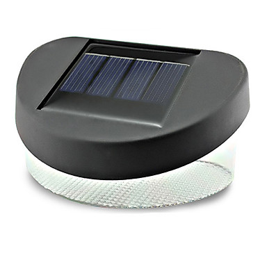 În aer liber 2LED Solar Power LED gard Deck modalitate Yard Garden Lumini Lampă (CIS-44432D)