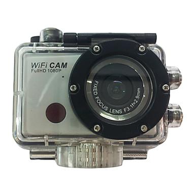 F21 Action Kamera / Sportskamera 5MP 3264 x 2448 Wifi Vandtæt CMOS 32 GB H.264 Engelsk 50 M Universel