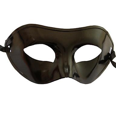 Karnaval Maske Erkek Kadın's Cadılar Bayramı Karnaval Yeni Yıl Festival / Tatil Cadılar Bayramı Kostümleri Siyah Solid