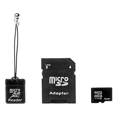 16GB Micro SD kort TF Card hukommelseskort Class6