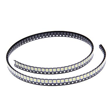 DIY 3528SMD 1000-2500MCD 6000-6500K Cool White Light LED Chip (2.8-3.6V/100pcs)