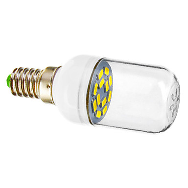 E14 Spoturi LED 12 led-uri SMD 5730 Alb Rece 90-120lm 5800-6200K AC 220-240V