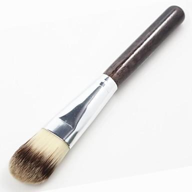 1pcs Professionell Makeupborstar Foundationborste Syntetiskt Hår Ansikte